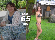 Amber - Lost 65 lbs!*
