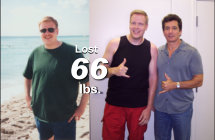 Eric - Lost 66 lbs!*