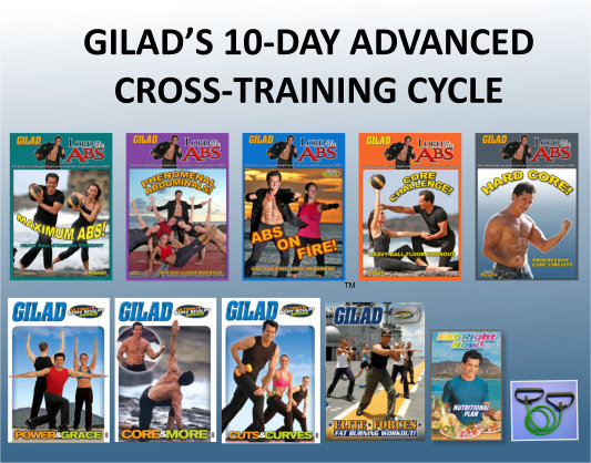 Gilad's 10-Day Advanced Cross-Training Cycle